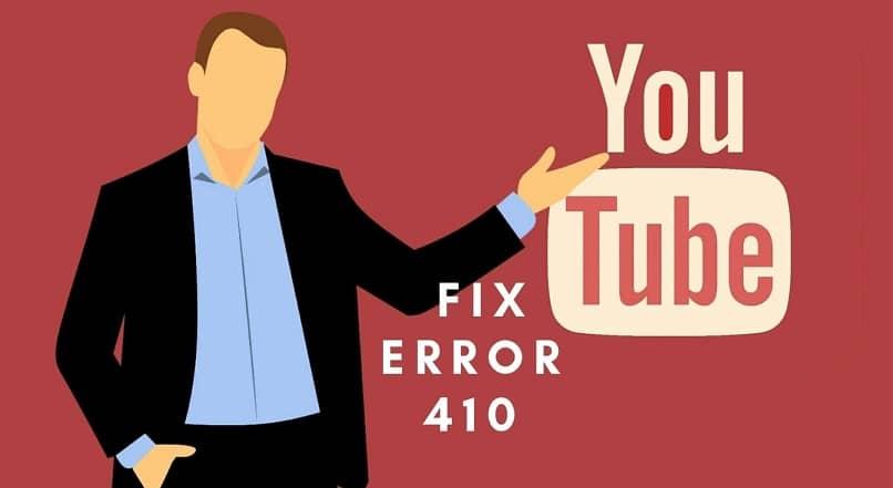 solucionar error en youtube