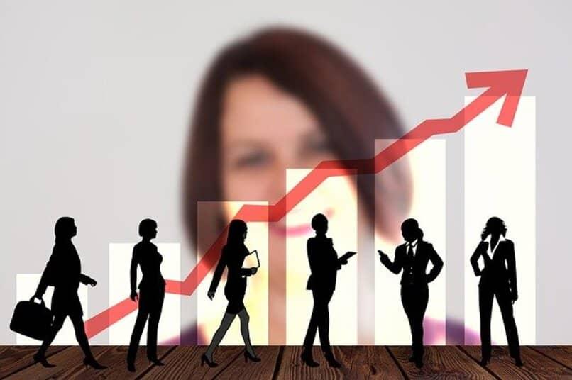 empresa en crecimiento dependiendo de su lider