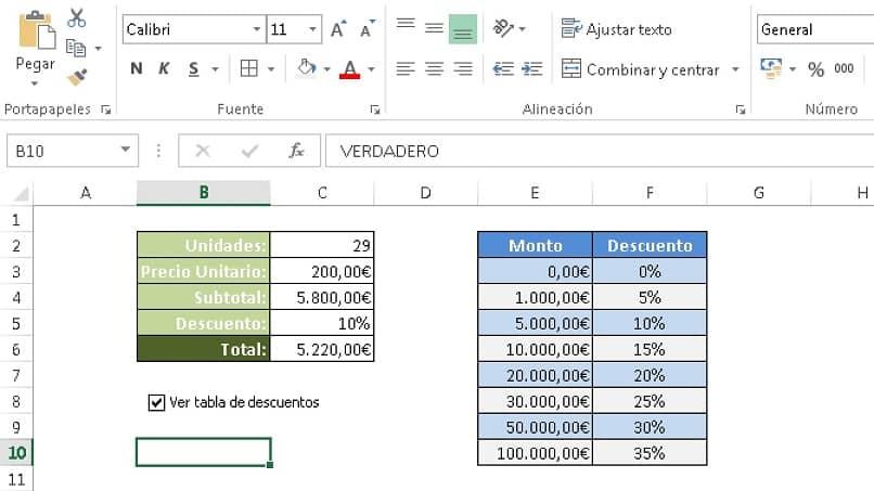 ocultar datos en excel usando un formato condicional