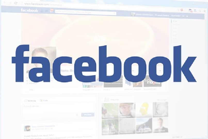 imagen que muestra la portada de la red social facebook