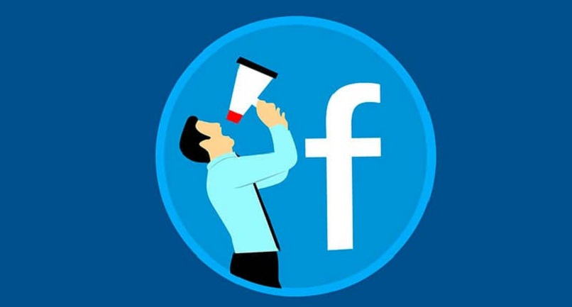 ilustracion de facebook de una persona con altavoz