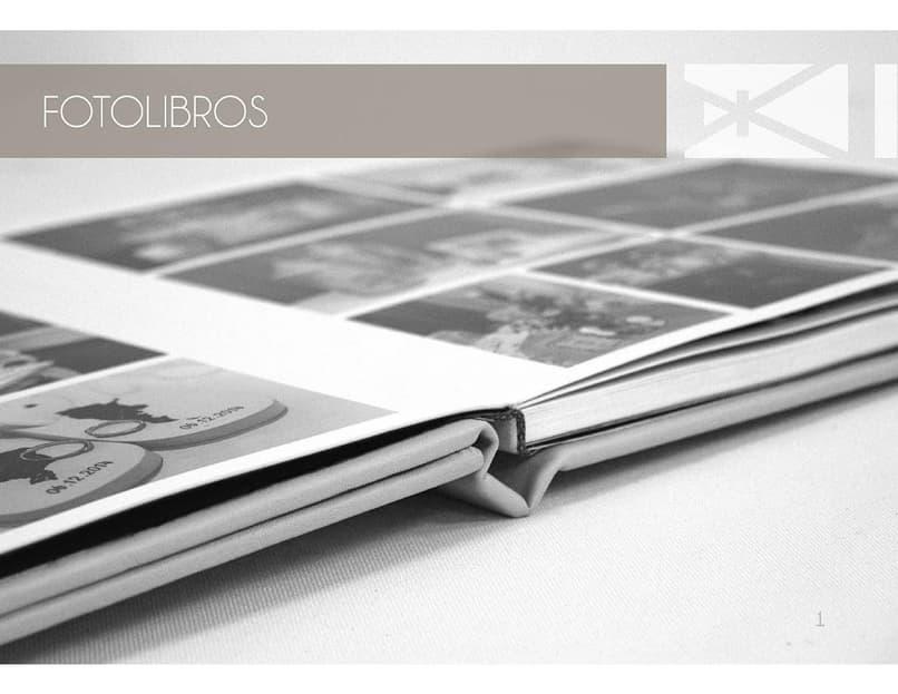 album de fotos o fotolibro
