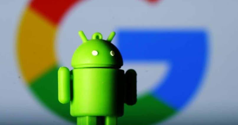 logo de android y google