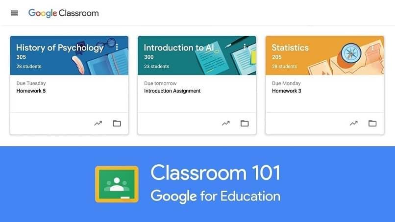 explorar google classroom