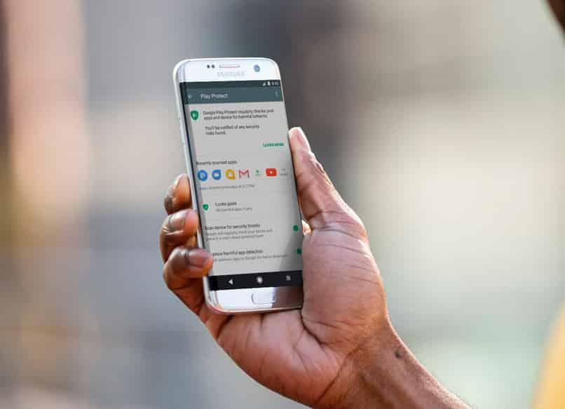 google play protect en tu telefono