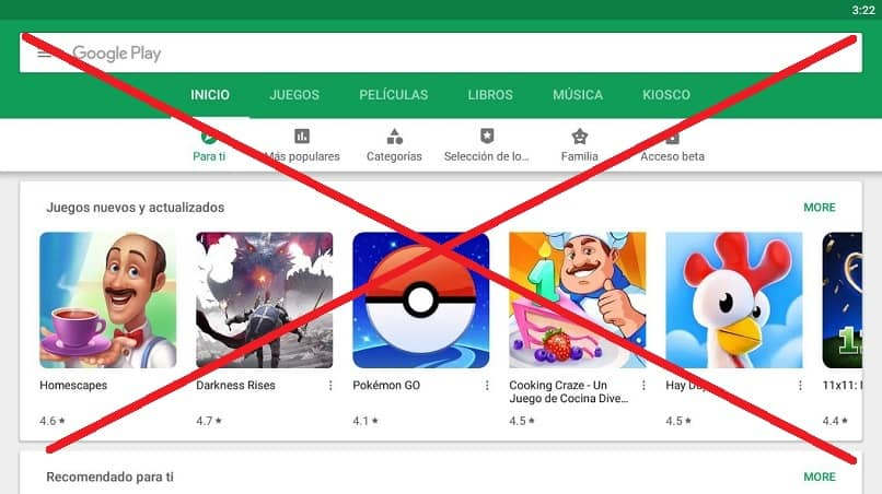 google play web no funciona