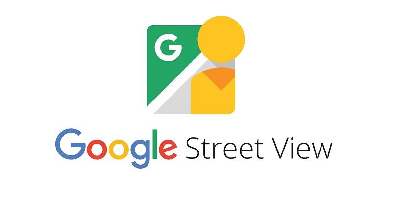 logotipo oficial de google street view aplicacion