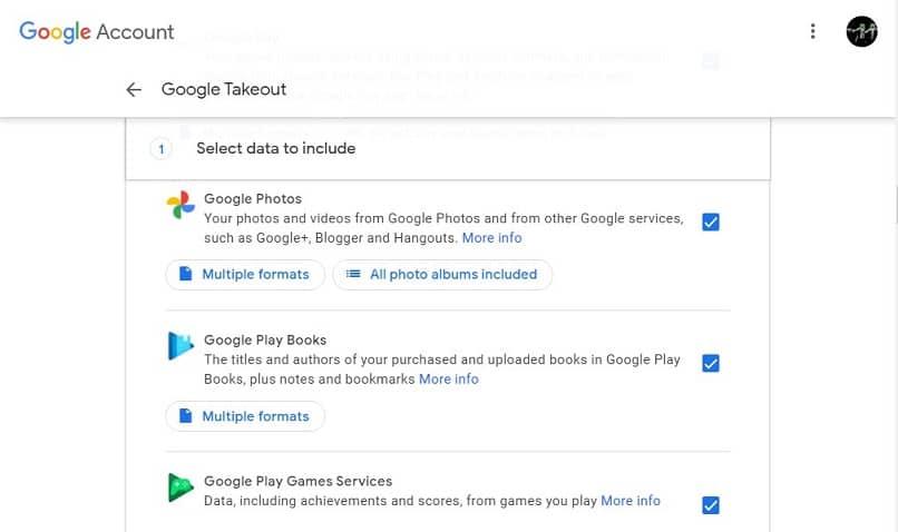 descargar galerias google takeout