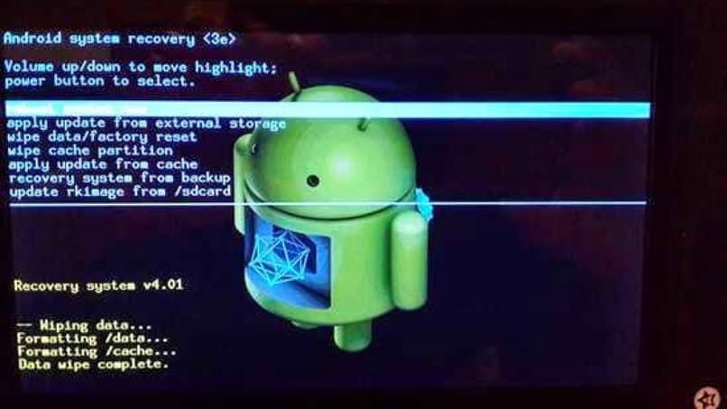 hard reset para tablet android