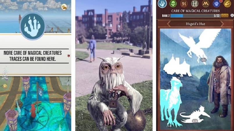 juego de wizards unite para android