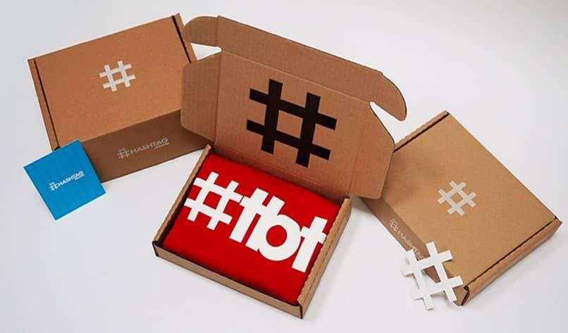 imagen publicitaria del hashtag tbt