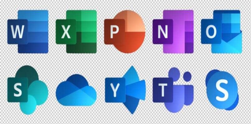 logos de aplicaciones disponibles