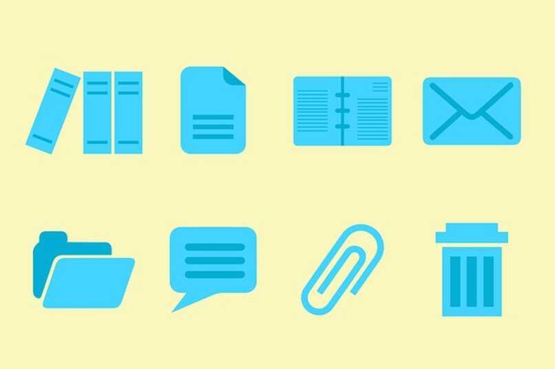 iconos organizados