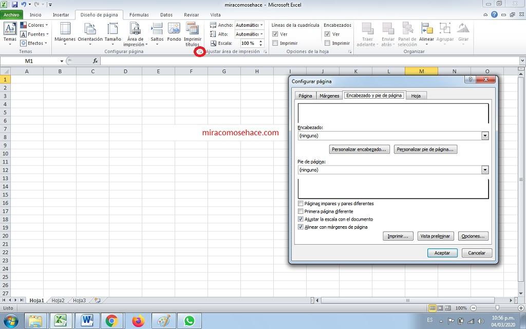 Cómo insertar números de página en las hojas de cálculo de Excel