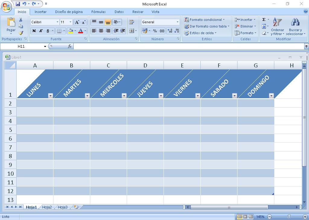 Cómo ajustar o girar texto de una celda en Excel - Inclinar celdas en Excel