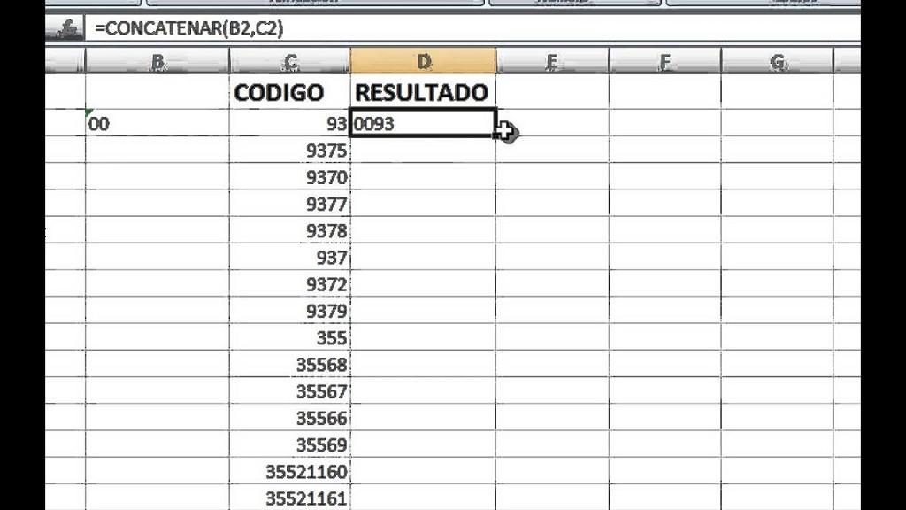 Cómo quitar o poner ceros a la izquierda en Excel con una fórmula sencilla