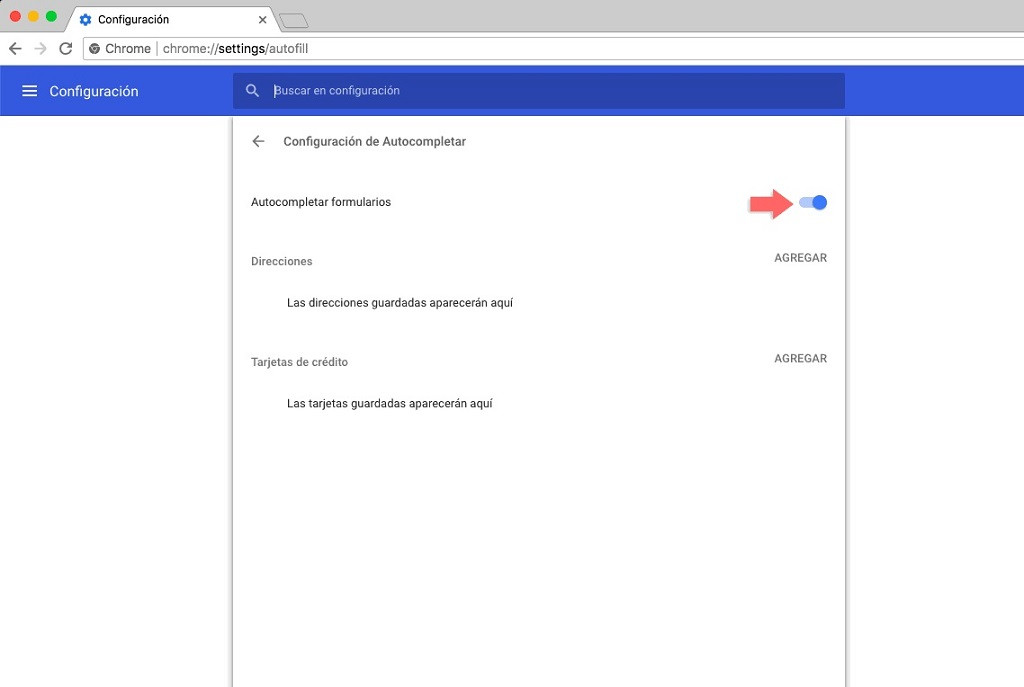 Cómo eliminar y desactivar el autocompletar de URL web en Google Chrome Windows y macOS