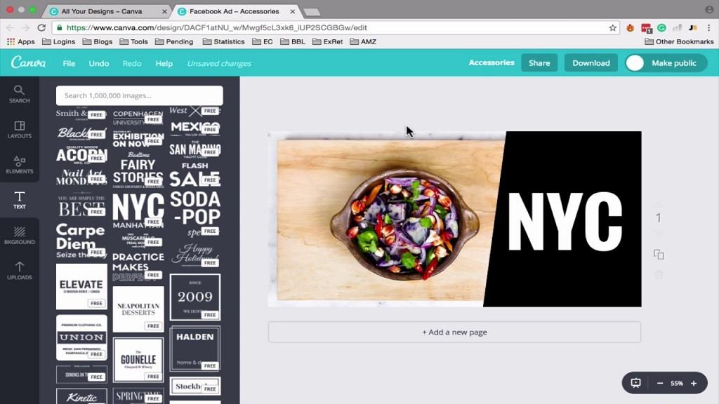 Cómo usar y crear en Canva un banner publicitario gratis para publicar en Twitter