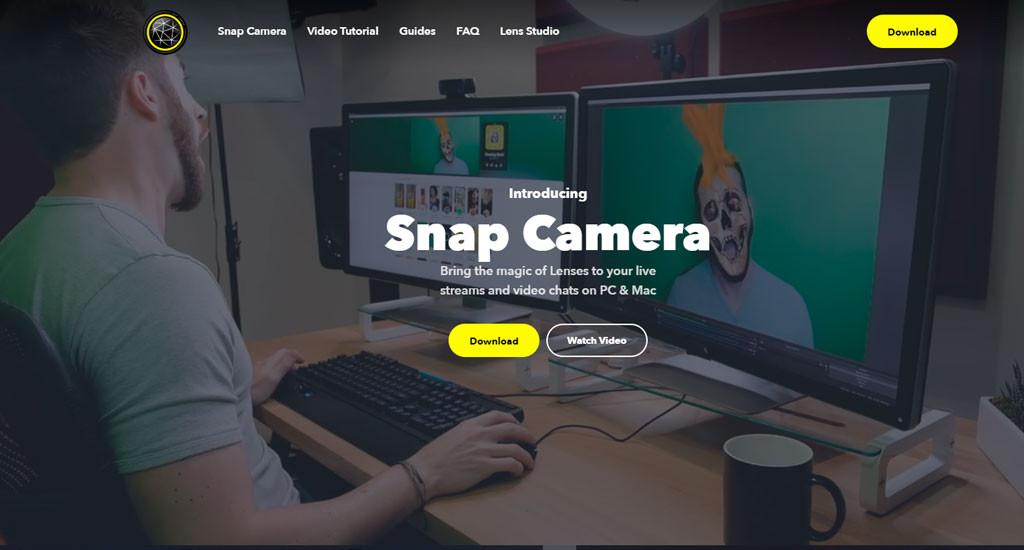 Snap Camera página oficial