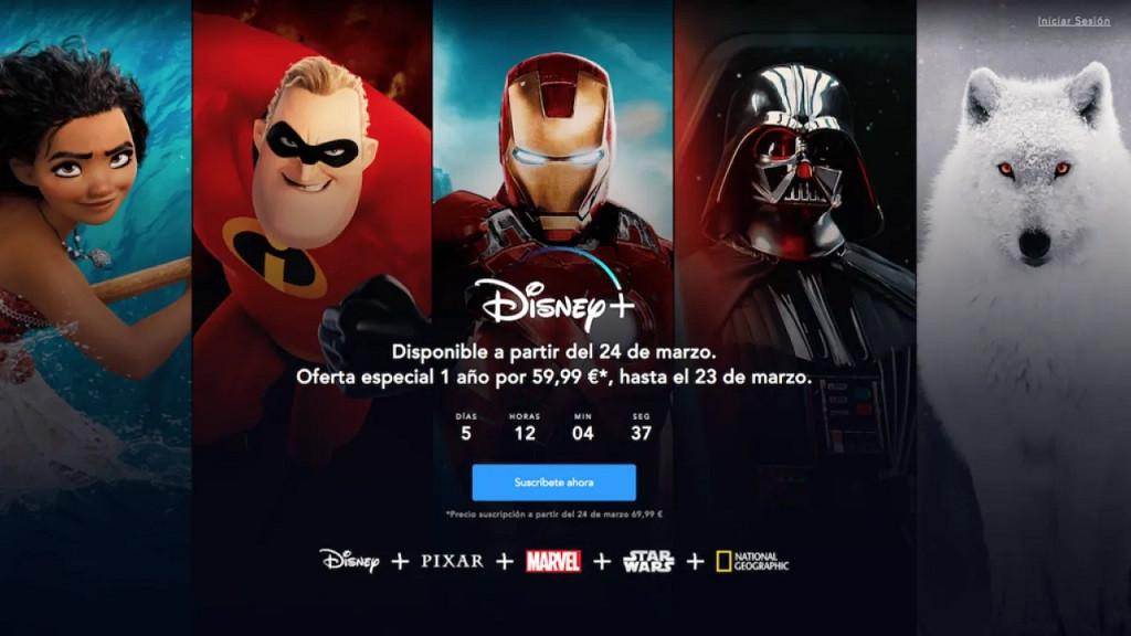 Como cambiar el idioma de Disney Plus