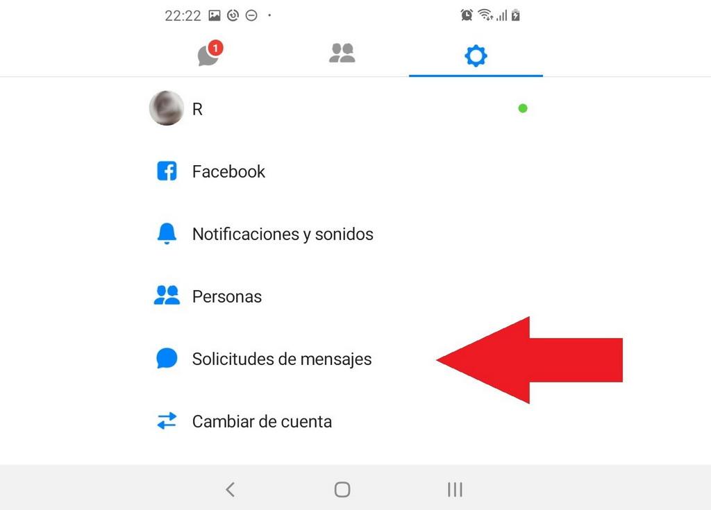 Cómo ver solicitudes de mensajes en Facebook Lite en Android - Muy Fácil