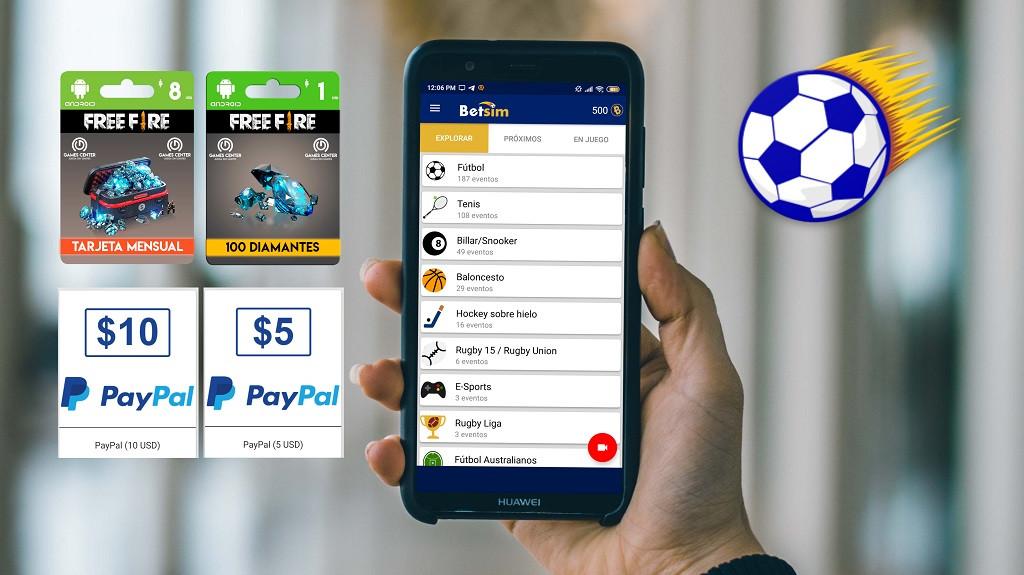 Cómo Ganar Dinero para Paypal sin Inversion Rápido con la Aplicación Betsim Desde Android