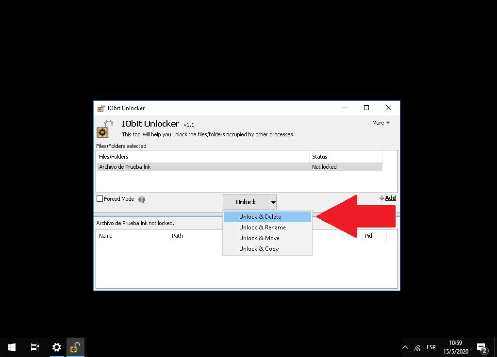 ¿Cómo eliminar archivos forzosamente que no se dejan borrar? - Fácil y Rápido