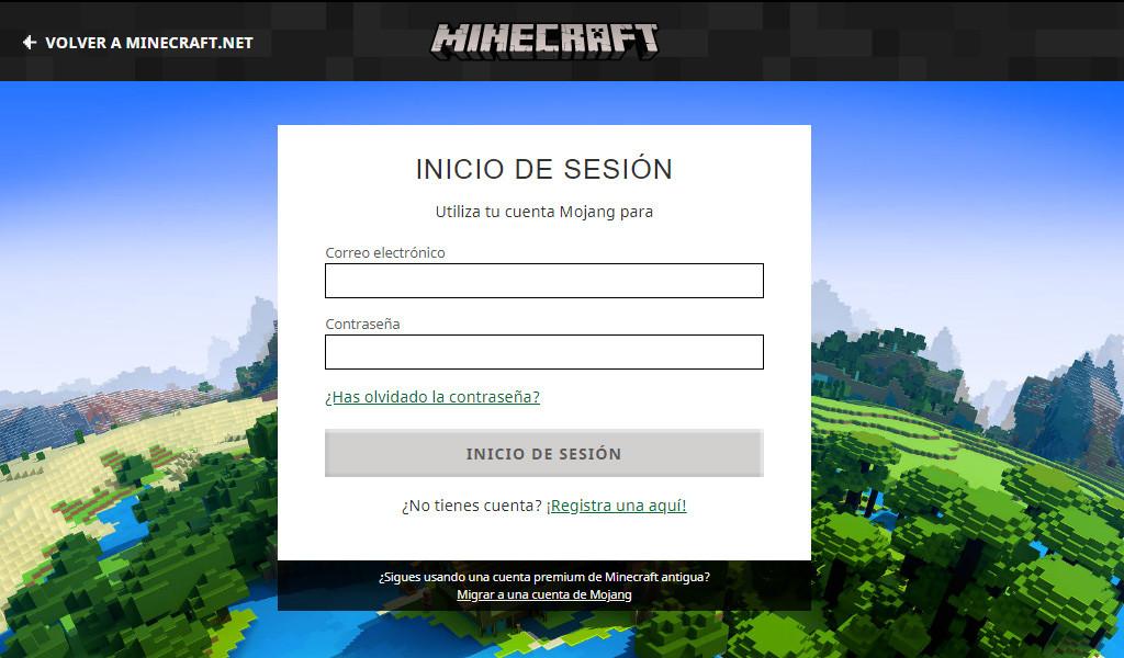 ¿Cómo puedo entrar o iniciar sesión en Minecraft si me da un error?
