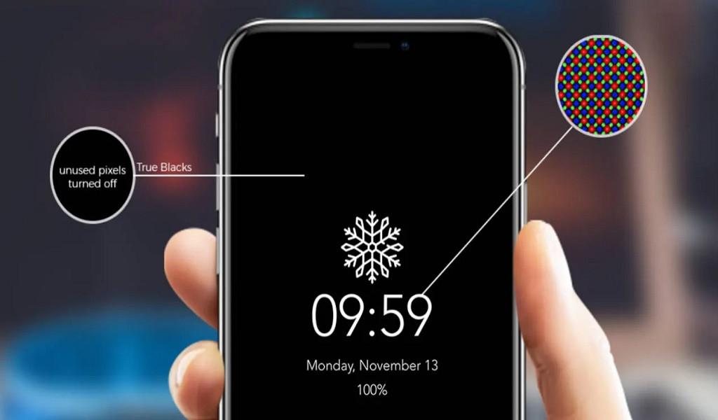 ¿Cómo simular el modo Always on en la pantalla de mi IPhone X?