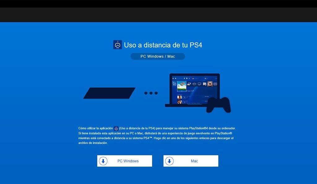¿Cómo solucionar el problema de la aplicación uso a distancia PS4 a PC?