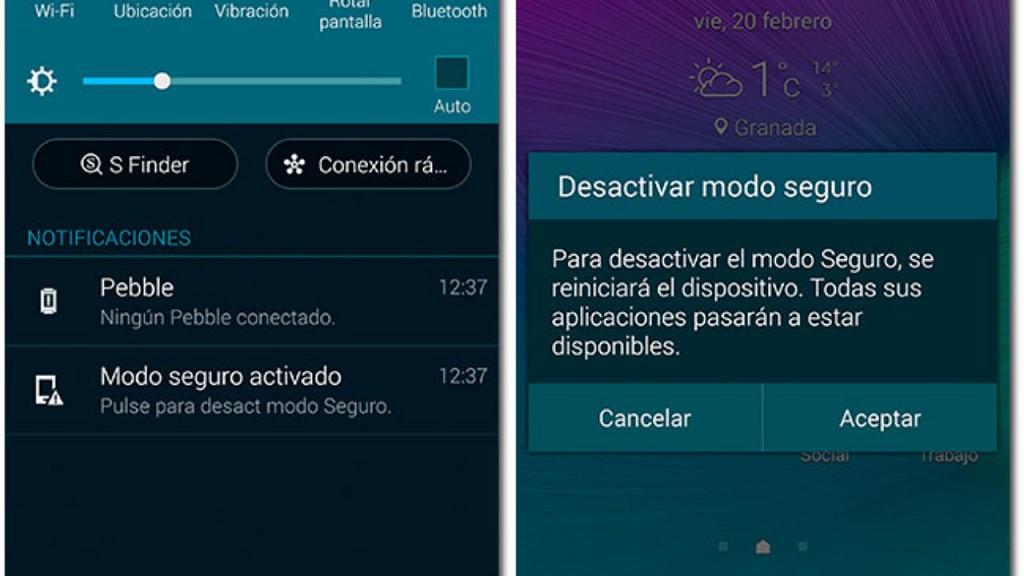 Cómo reiniciar mi dispositivo Android en modo seguro - fácil y rápido