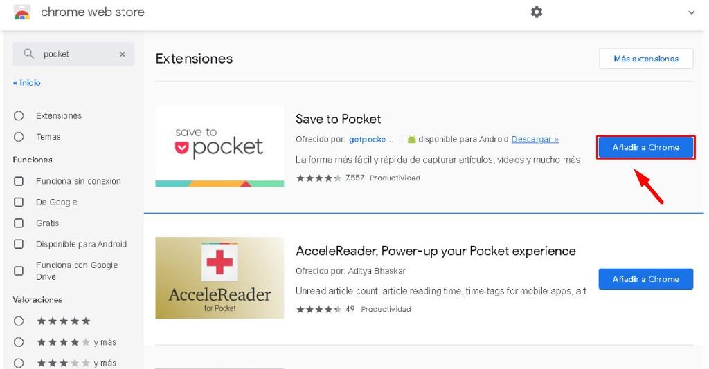 Cómo guardar Tweets de Twitter en borradores para leer más tarde con Pocket