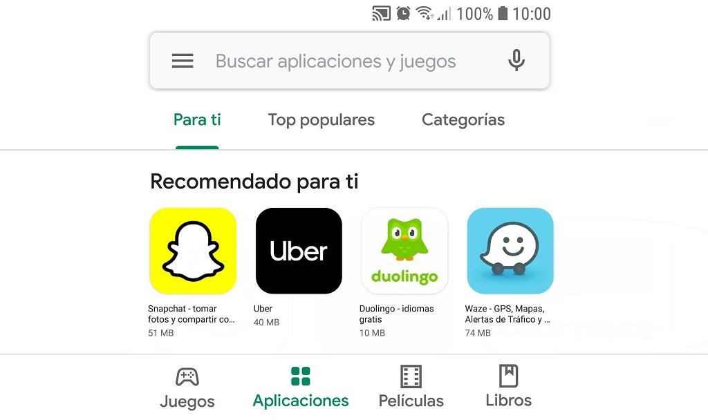 ¿Por qué no me aparecen algunas aplicaciones en Google Play Store?