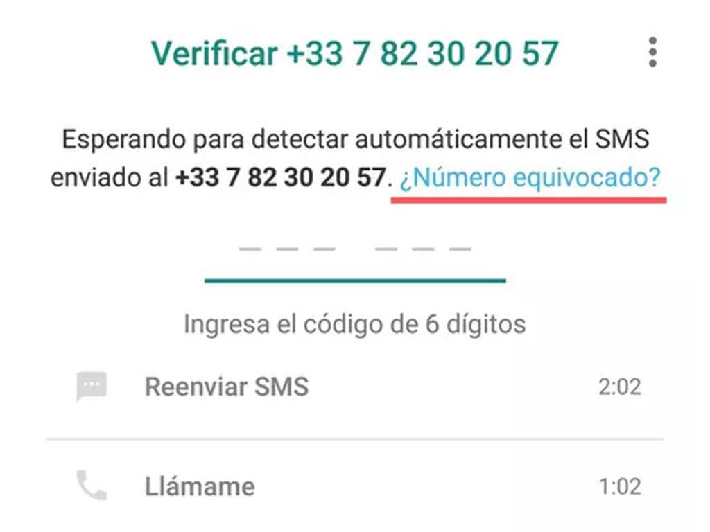 ¿Qué hacer si nunca me llega el código de verificación de WhatsApp?