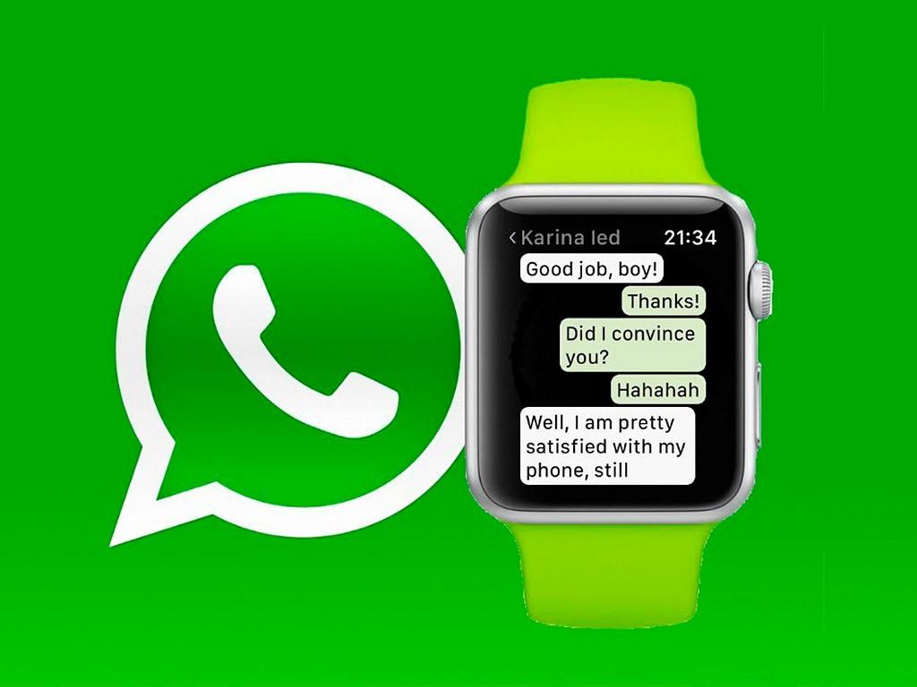 Cómo leer o responder los mensajes de WhatsApp en Apple Watch fácilmente