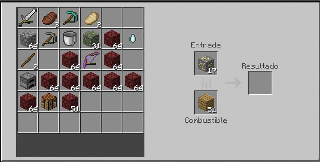 ¿Cómo hacer un horno o un horno de fusión en Minecraft? - Crafteo horno