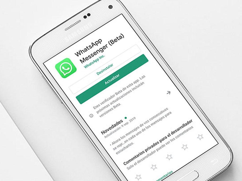 ¿Por qué no puedo actualizar mi WhatsApp por falta de espacio?