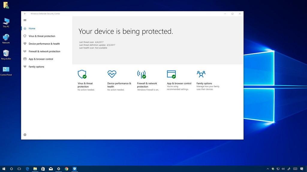 ¿Cómo usar otro antivirus junto con Windows Defender en Windows 10?