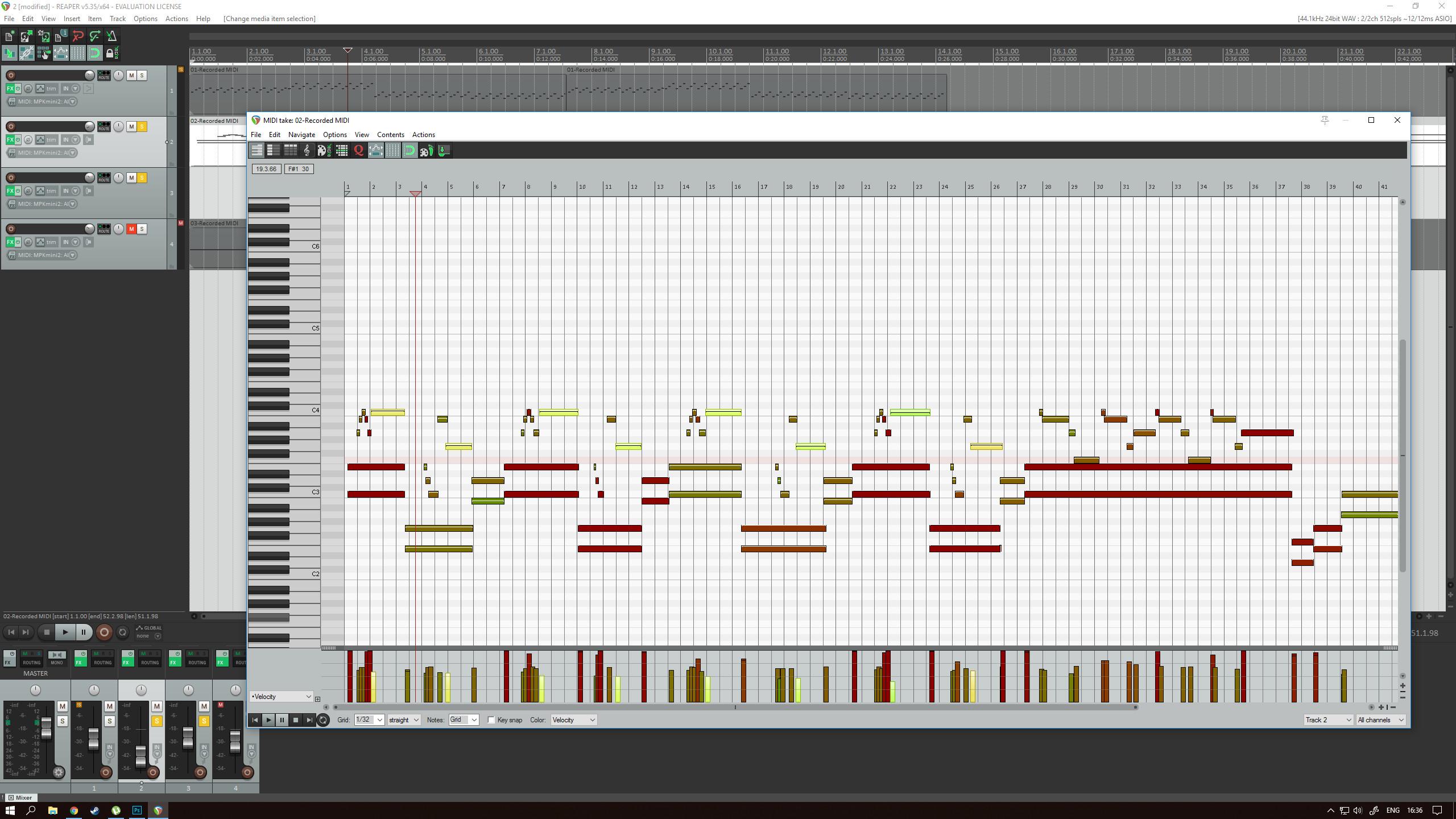 configurar-notas-teclado-controlador-midi-reaper