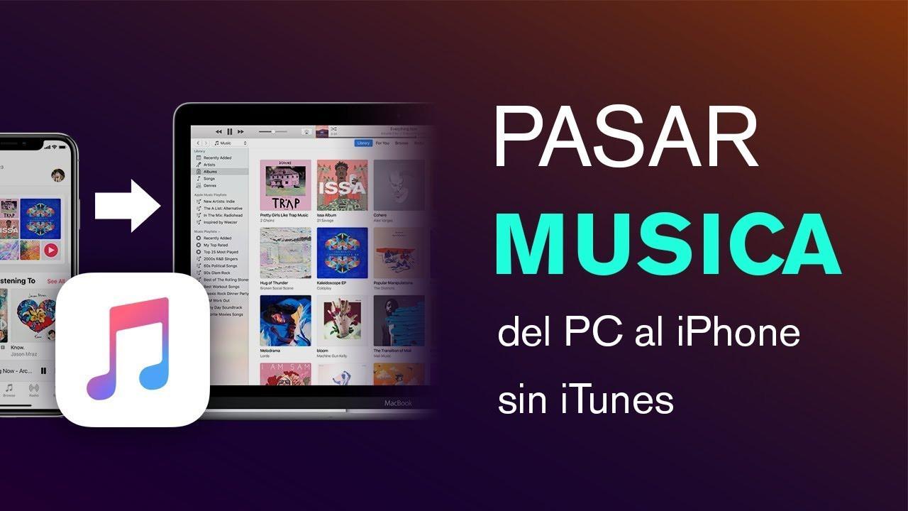 Como transferir músicas do meu PC para um iPhone com ou sem o iTunes