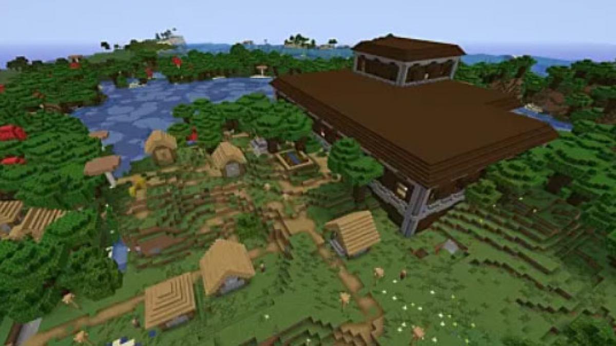pueblo minecraft