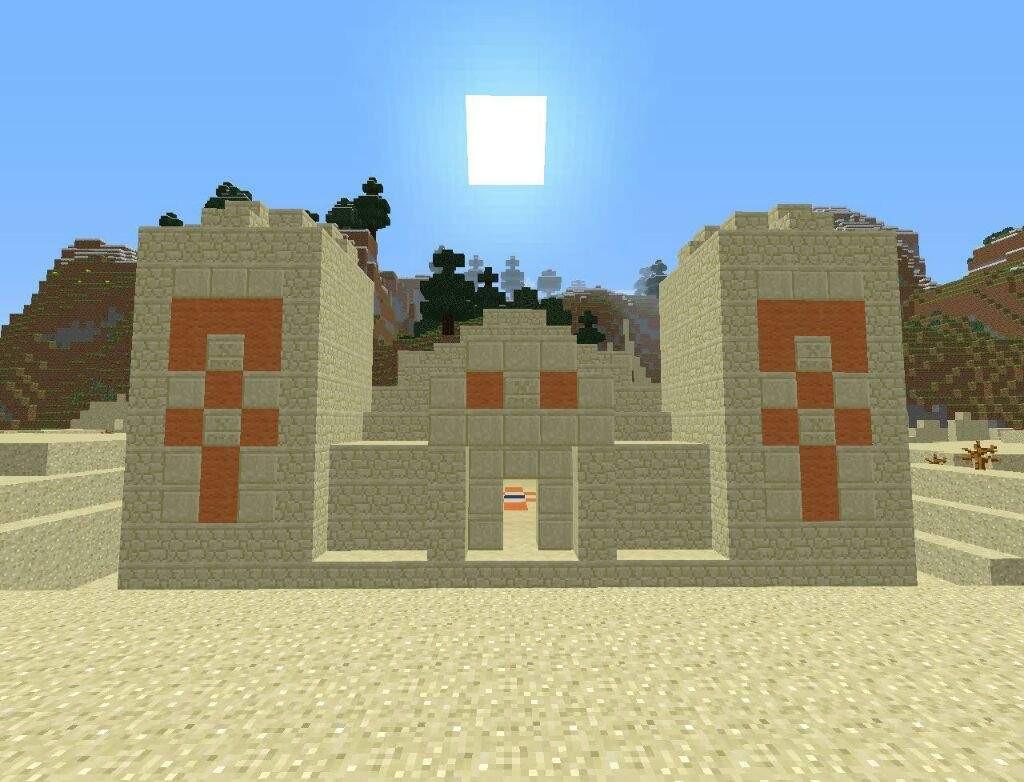 templo minecraft
