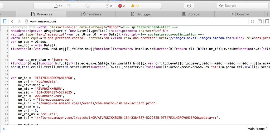 ¿Cómo ver el código fuente o HTML de una página web en Safari?