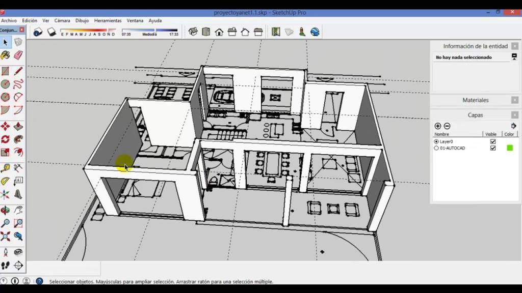 proyecto 3d en sketchup