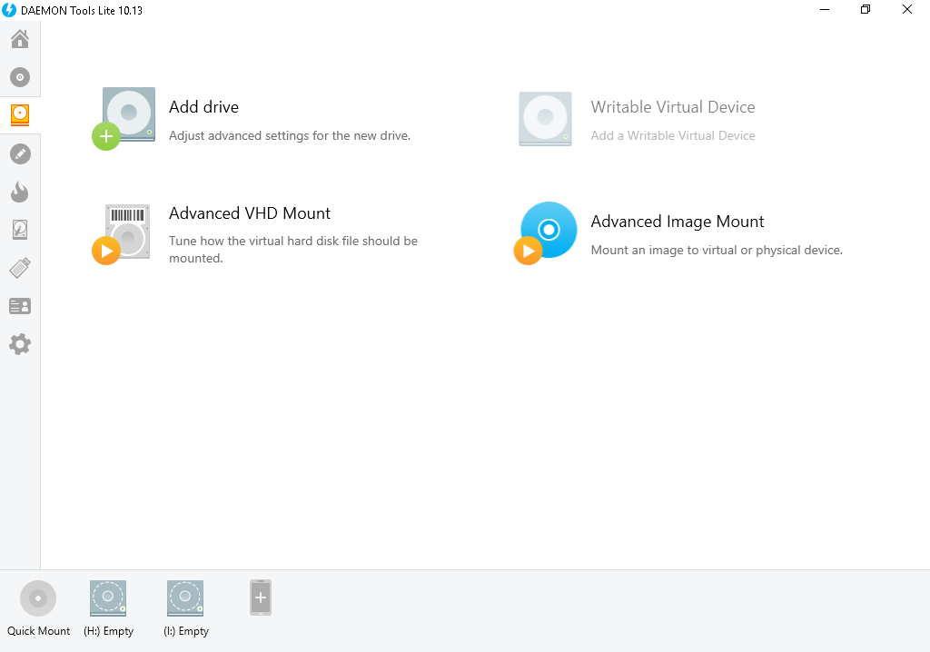 abrir un archivo BIN en Daemon Tools