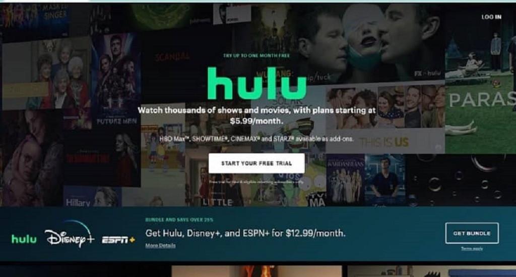 fallo de reproduccion de Hulu
