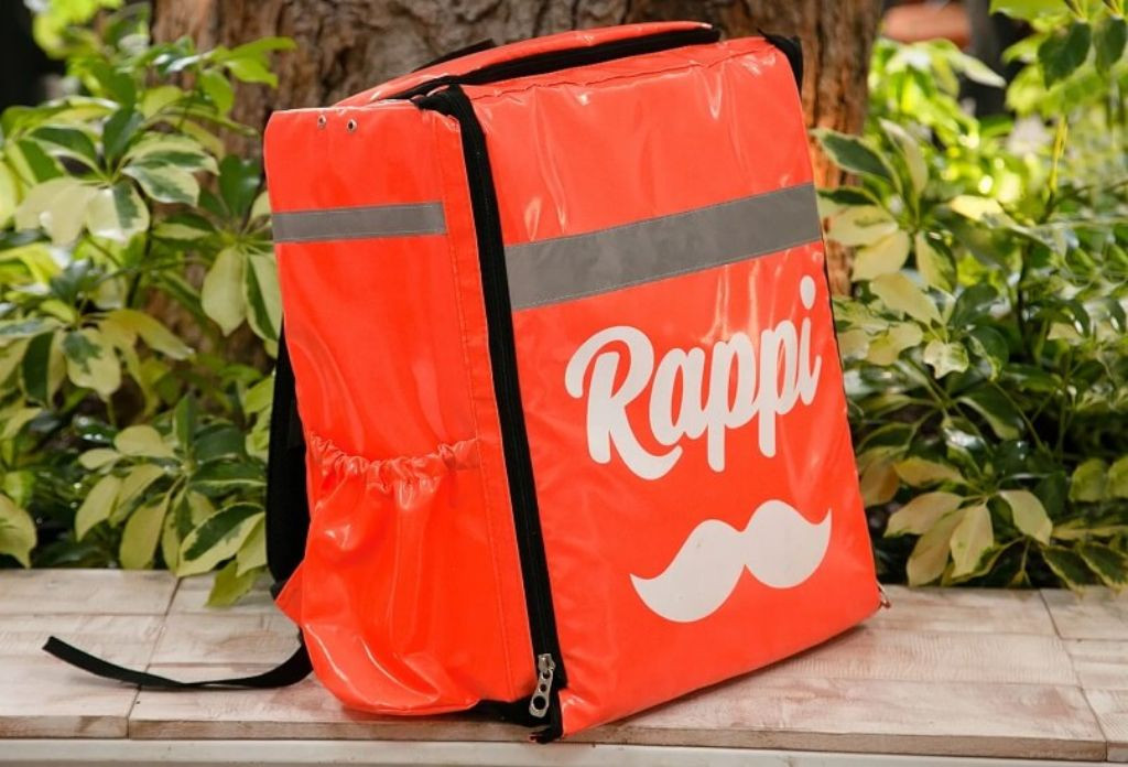 bolso termico para comidas Rappi