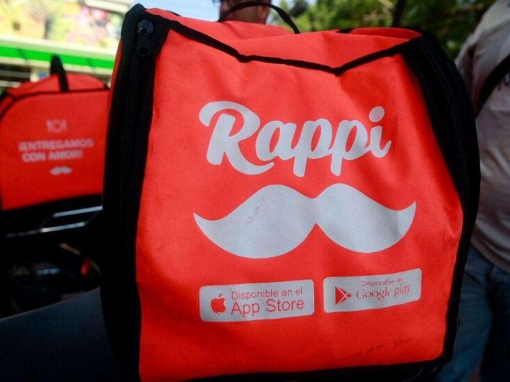 bolso de Rappi entregamos con amor