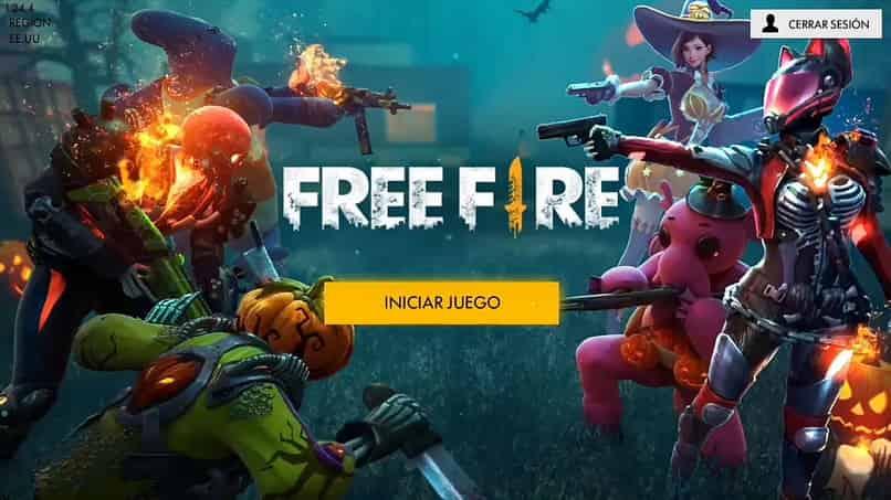 no puedo iniciar sesion en free fire