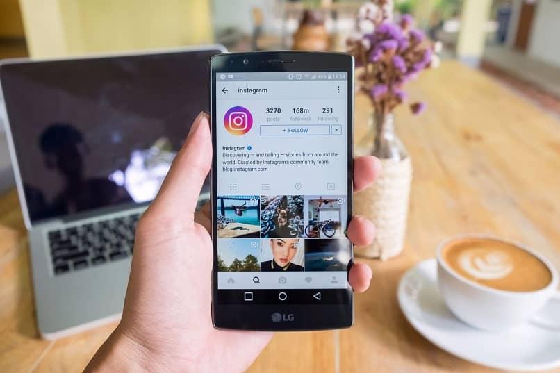 telefono aplicacion instagram
